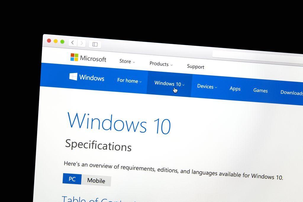 Windows 10 kommt in vier Versionen auf den deutschen Markt (Bild: ibphoto, www.bigstock.com)