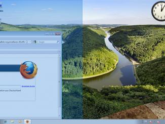 Windows 7: Fenster nebeneinander anordnen (1)