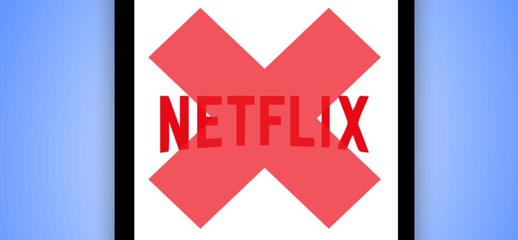 Netflix Account löschen