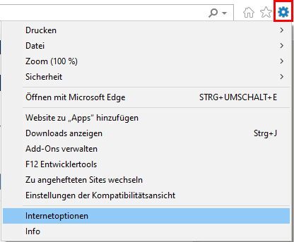 JavaScript in Internet Explorer einschalten 1