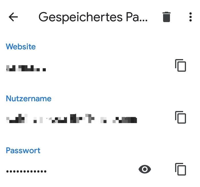 Gespeichertes Passwort Löschen Chrome