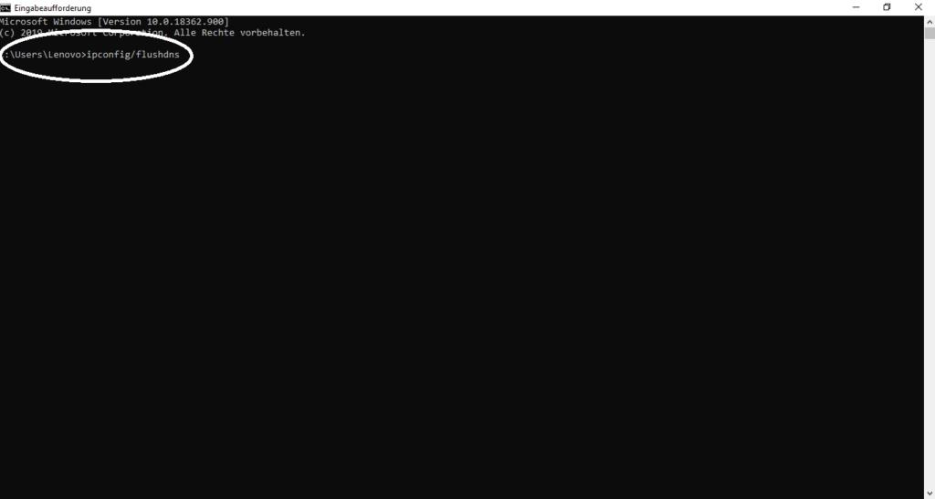 DNS-Cache leeren, wenn die Netflix-App unter Windows 10 nicht funktioniert