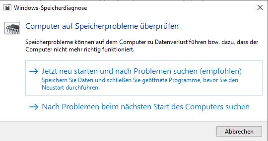 Speicherprobleme können Seitenfehler bei Windows 10 verursachen.