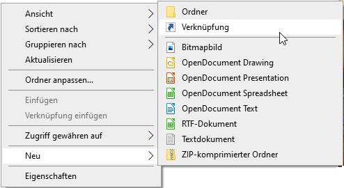 Am besten legen Sie eine Verknüpfung zum Windows 10 Autostart-Ordner an