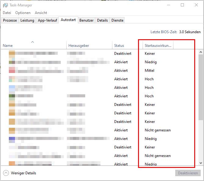 Windows 10 Autostart-Ordner