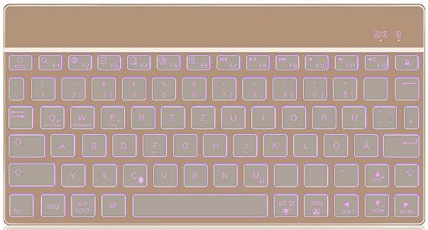 KVAGO Bluetooth Tastatur