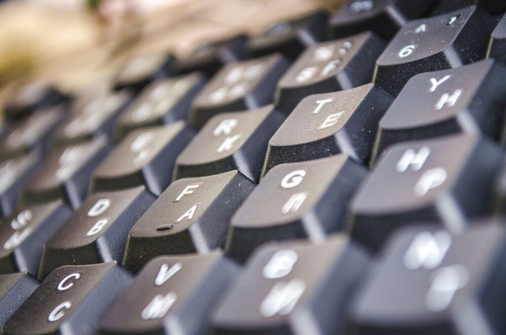 englische Tastatur