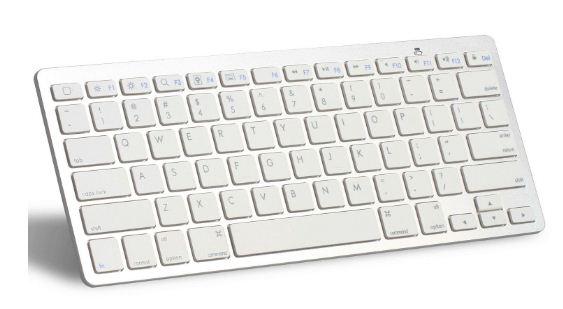 Englische Tastatur im kompakten Design (ohne Ziffernblock)