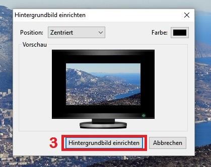 Windows 10: Hintergrundbild aus dem WWW einrichten