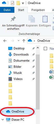 Office Upload Center deaktivieren