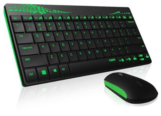 Rapoo 8000 Wireless Optical Kombo Tastatur