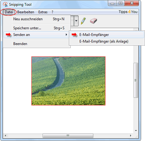 snipping tool windows 7