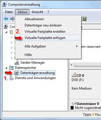 Computerverwaltung-akion