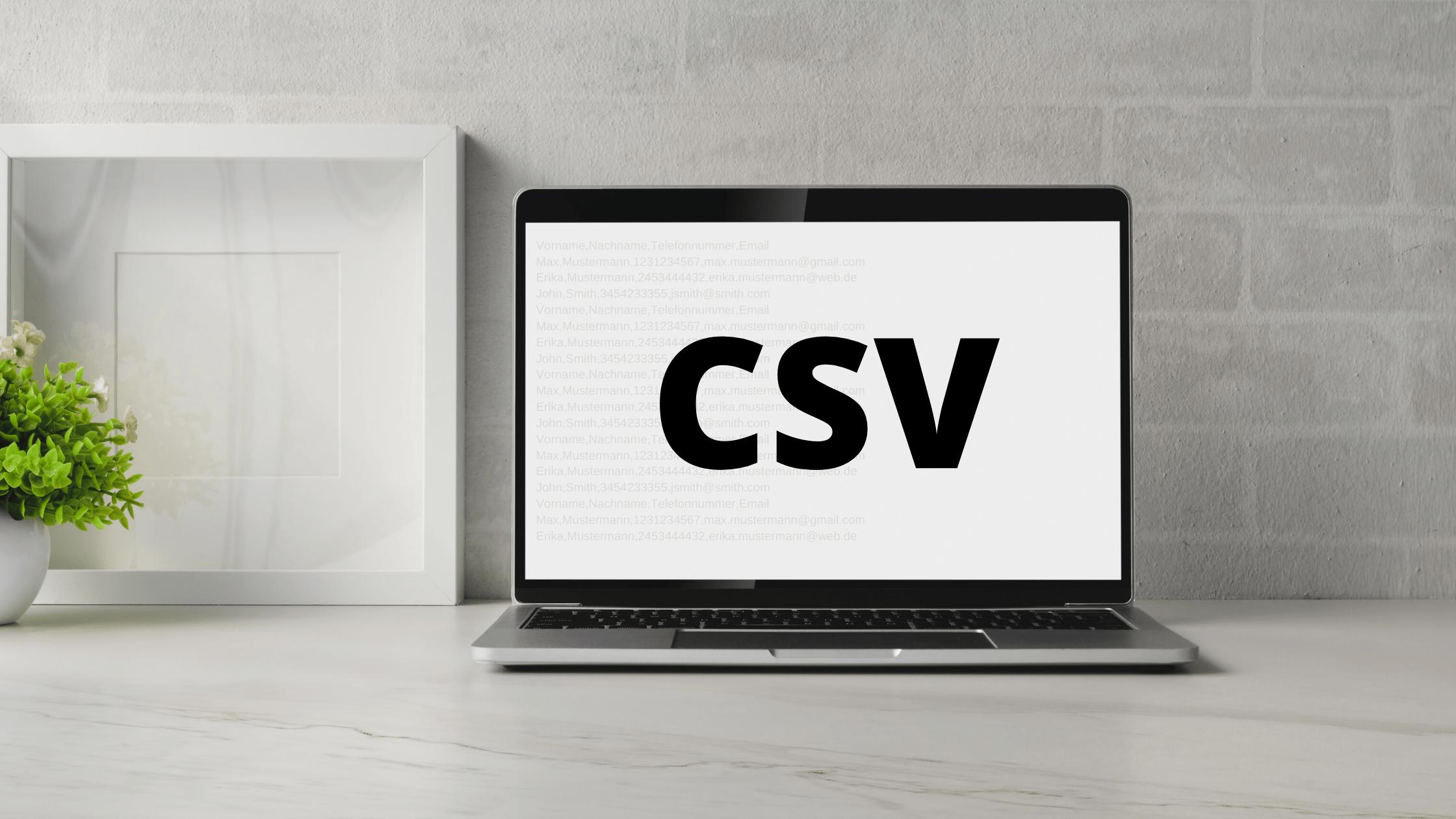 Was ist eine CSV-Datei? Lesen Sie hier nach!