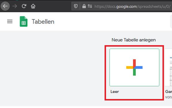 google docs tabelle erstellen