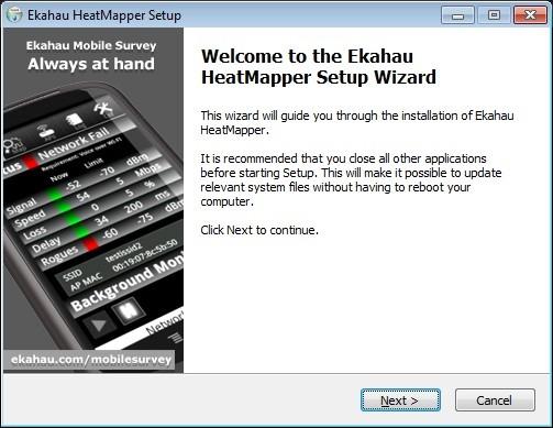 HeatMapper-Setup.installieren