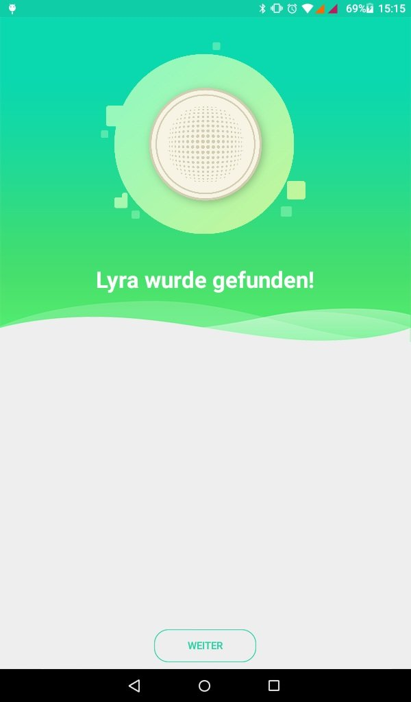 App hat Lyra gefunden