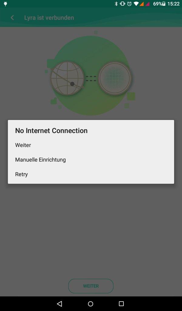 Asus Lyra MAP-AC2200: App kann Modem nicht finden