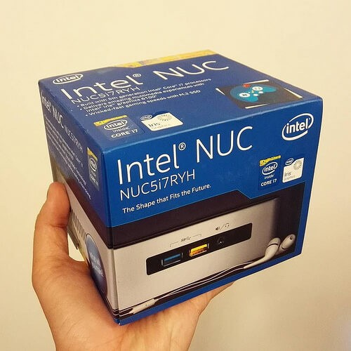 Mini-PC, hier von Intel