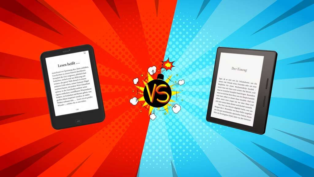 Kindle vs. Tolino